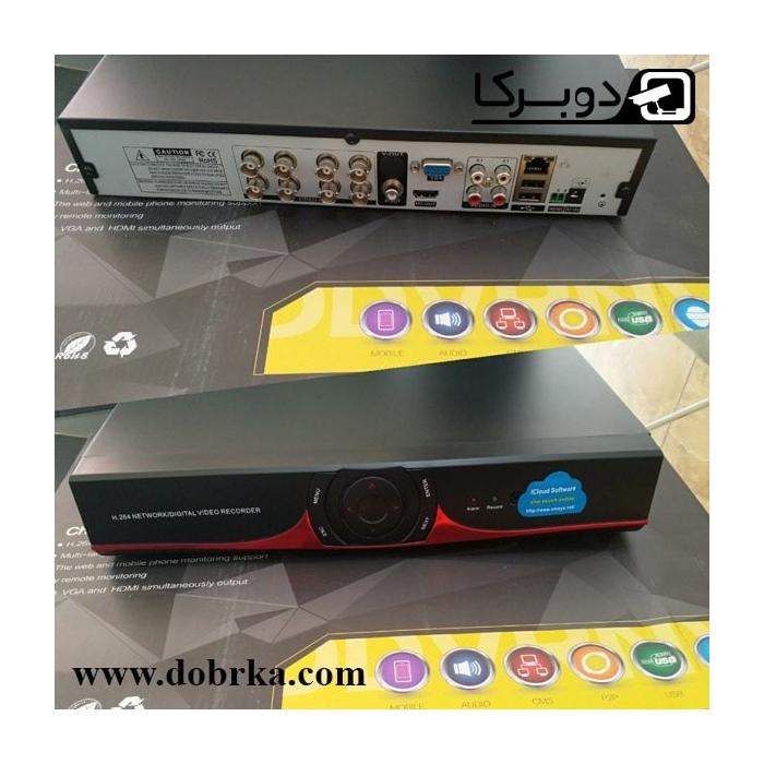 دی وی آر 4 lمگاچیکسل 8 کانال 1080P
