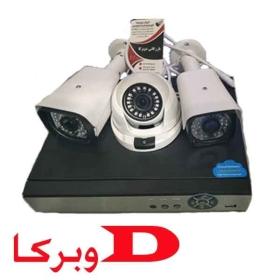پک کامل دوربین مداربسته فول اچ دی 2 مگا پیکسل