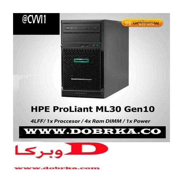 سرور اچپی HPE ProLiant ML30 Gen10