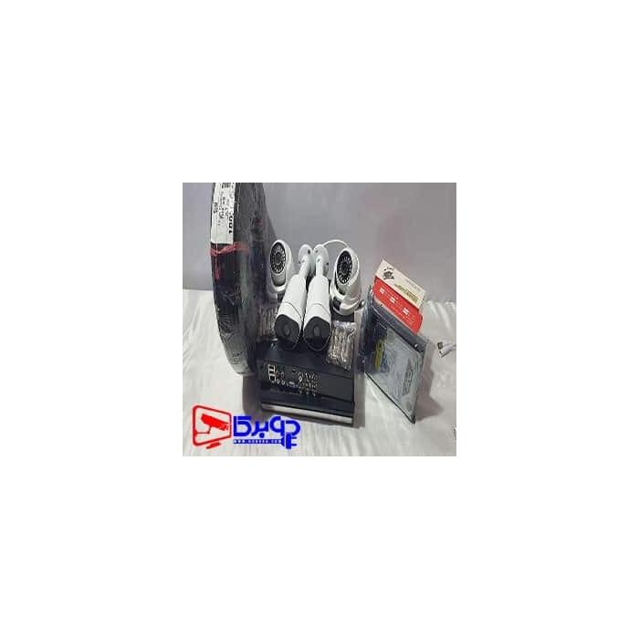 پک چهار کانال دوربین 2 مگاپیکسل