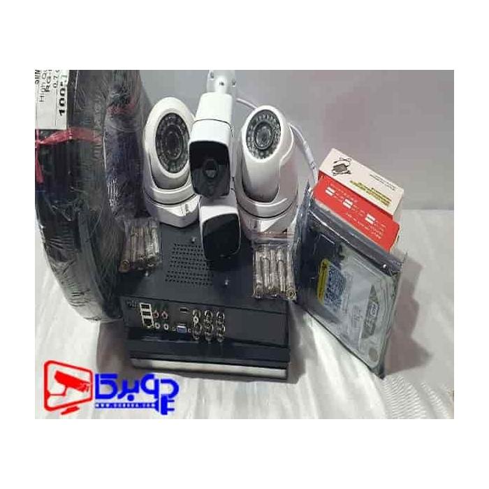 خرید پکیج دوربین مداربسته 4 کانال