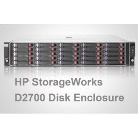 خرید ذخیره ساز استوک HP D2700 Disk Enclosure AJ941A