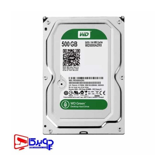 هارد وسترن دیجیتال 500 گیگابایت اینترنال سبز مدل WD5000AZRX