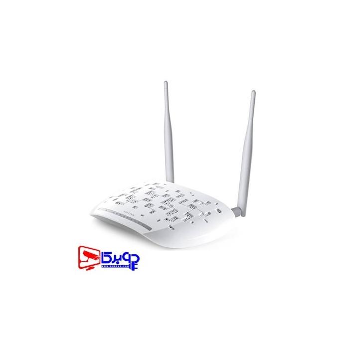 خرید مودم روتر تی پی لینک ADSL2 Plus بیسیم N300 مدل TD-W8968