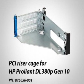 خرید رایزر دوم HP DL380p Gen10 – PCI riser cage