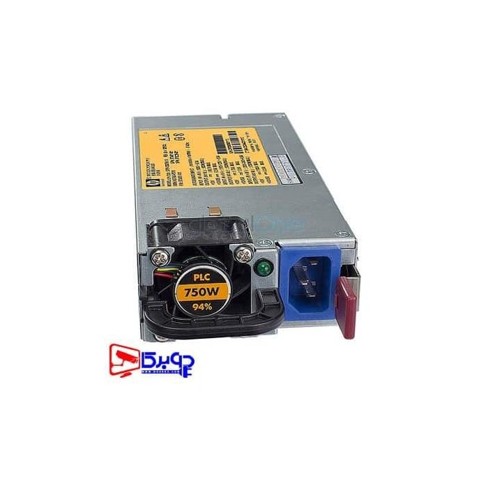 منبع تغذیه سرور HP 750W با پارت نامبر 656363-B21
