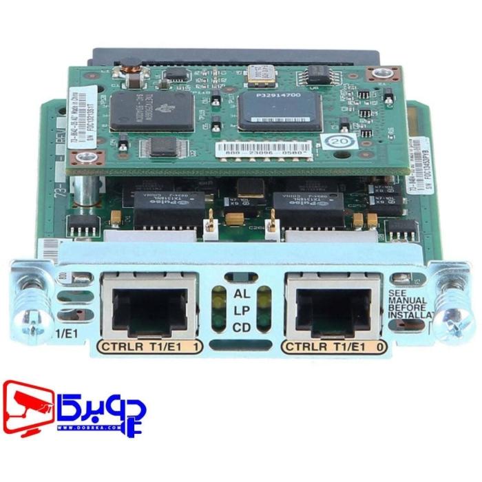 کارت ماژول سیسکو مدل VWIC2-2MFT-T1/E1