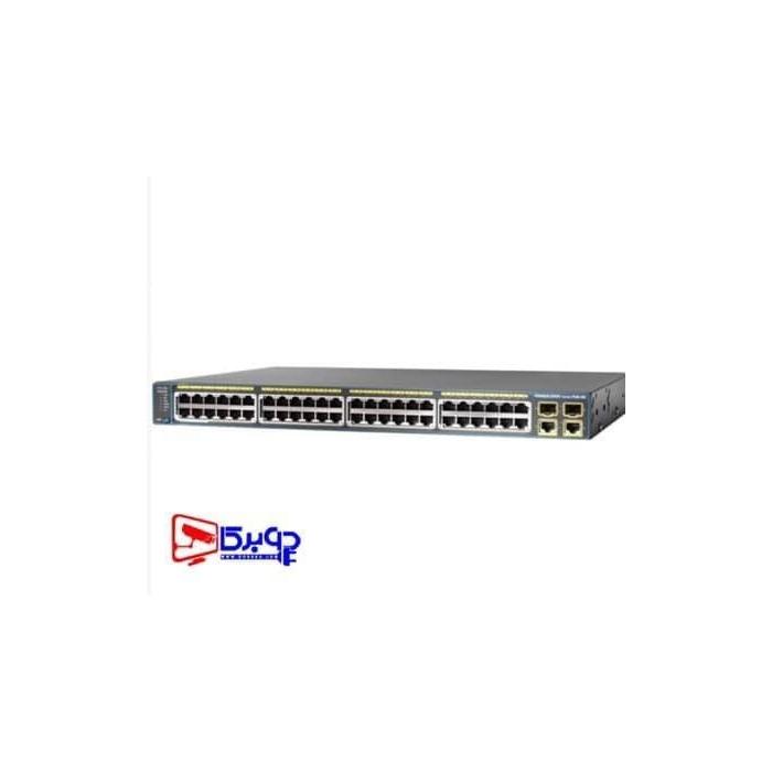 سوییچ مدیریتی 48 پورت Cisco مدل WS-C2960-48PST-L