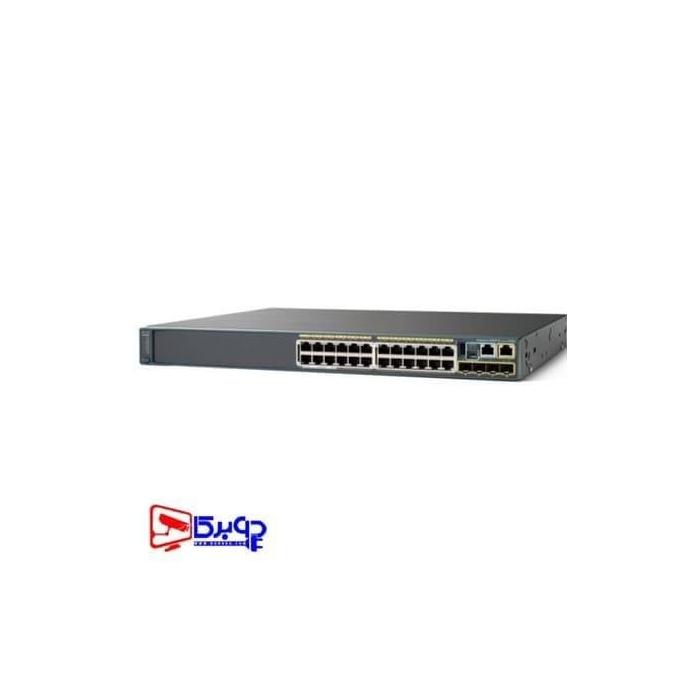 سوییچ مدیریتی 24 پورت Cisco مدل WS-C2960S-24PS-L