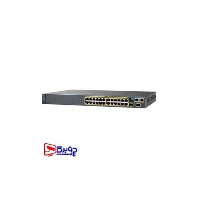 سوییچ مدیریتی 24 پورت Cisco مدل (ref) WS-C2960S-24TS-L